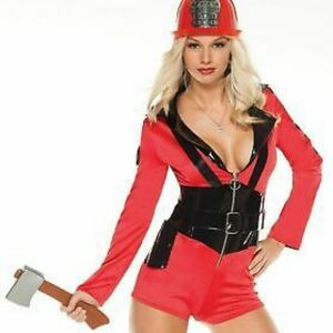 Costumes by Coquette Firefighter Halloween costume